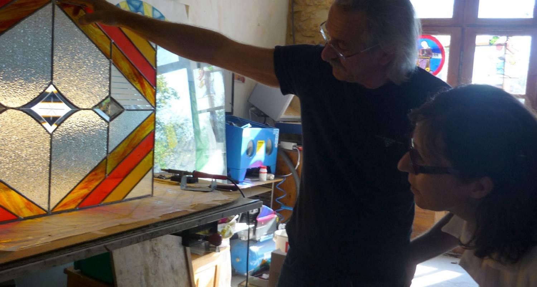 Activité: stage de vitrail à la capelle-et-masmolène (126506)
