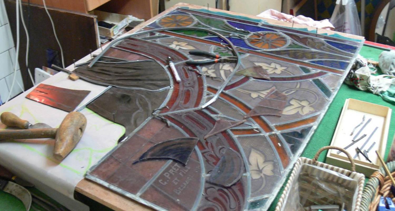 Activité: stage de vitrail à la capelle-et-masmolène (126504)