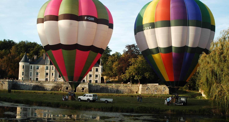 Activité: baptême et vol en montgolfière à amboise (126517)