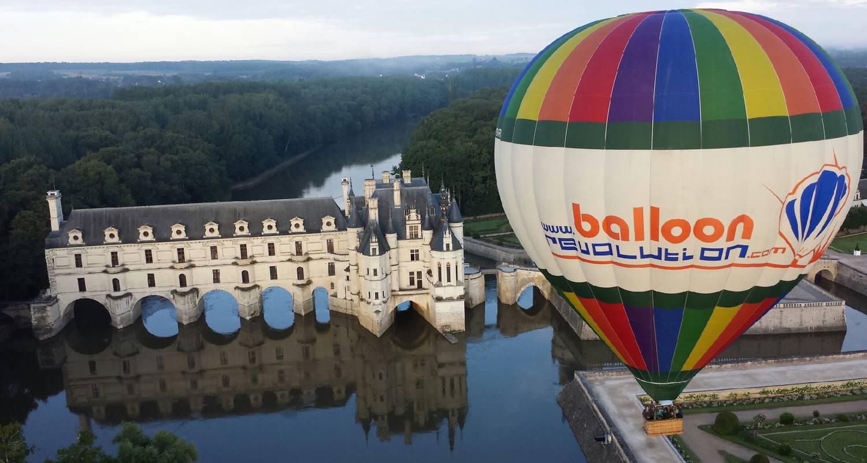 Activité: baptême et vol en montgolfière en amboise (126516)