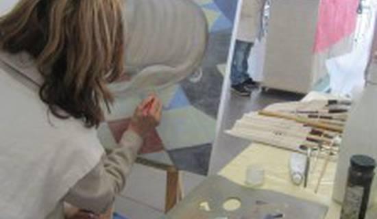 cours de peinture à la carte