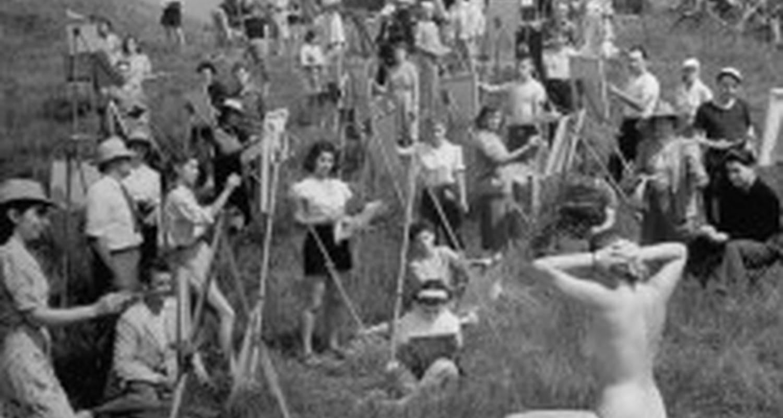 Activité: cours préparatoire aux écoles d'art à saint-laurent-du-verdon (126618)