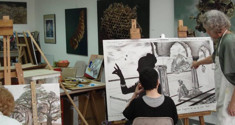 Activité: atelier neo medici -ecole d'art techniques de peinture de la renaissance à villeneuve-sur-lot (126621)