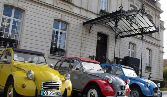 A l'Allure Champenoise : balades en 2cv Citroën en Champagne