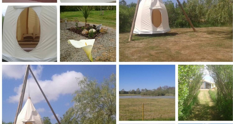 """Emplacements de camping: aire naturelle de camping """"les chagnelles"""" à le perrier (126777)"""