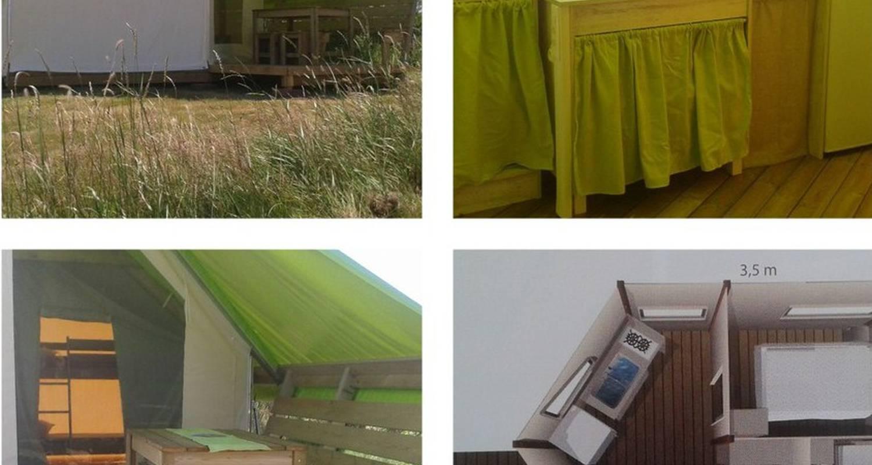 """Emplacements de camping: aire naturelle de camping """"les chagnelles"""" à le perrier (126776)"""