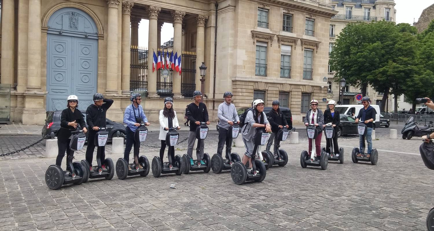 Activity: great monuments paris segway tour in paris (126818)