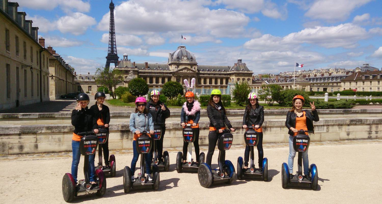 Activity: great monuments paris segway tour in paris (126862)
