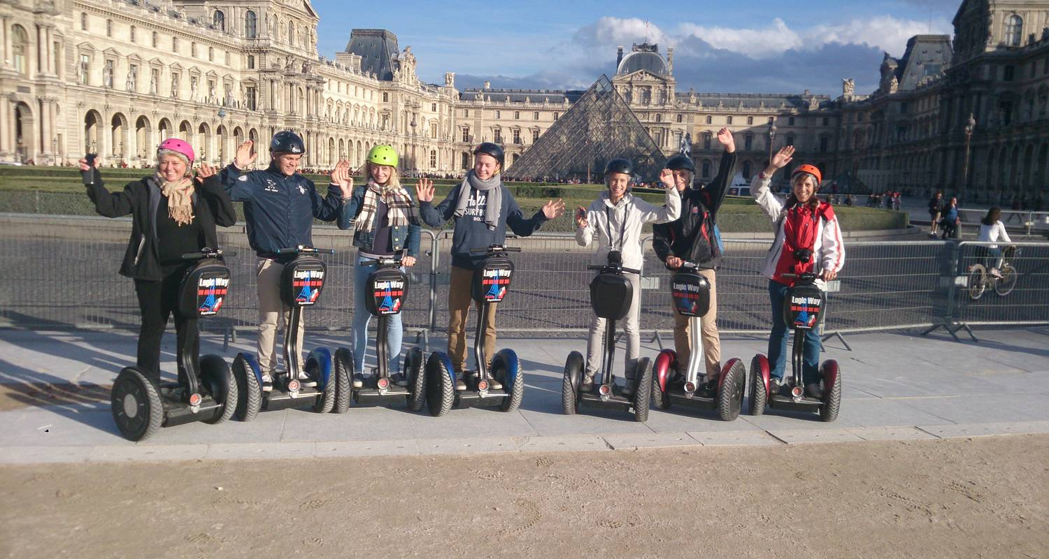Activity: great monuments paris segway tour in paris (126860)
