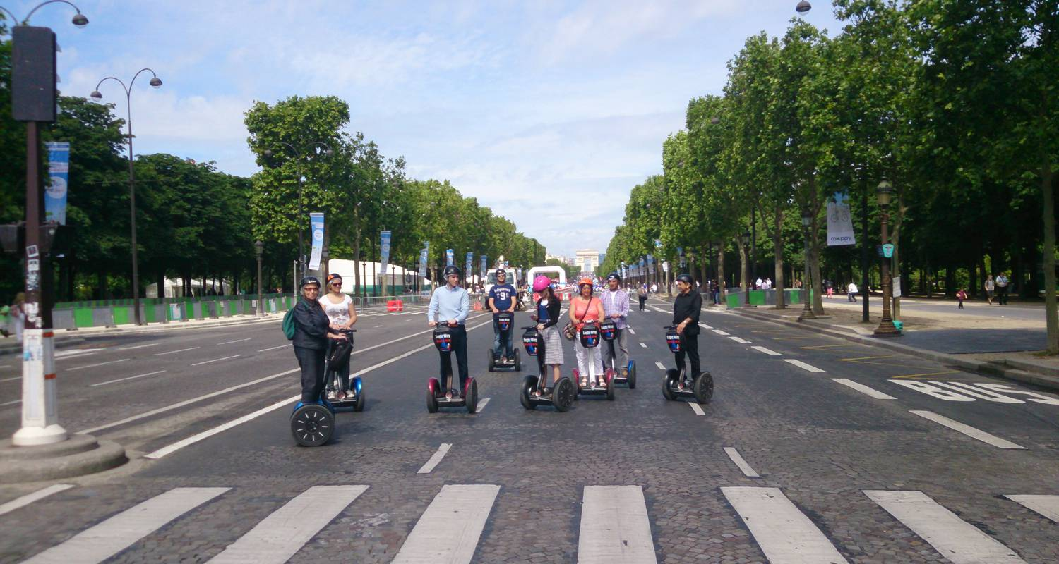 Activity: great monuments paris segway tour in paris (126863)