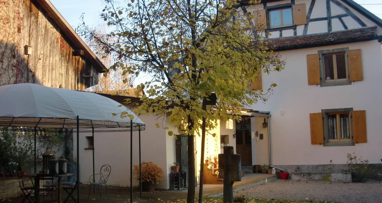 Chambre d'hôtes: chambres et table d'hôtes le belys à magstatt-le-bas (126892)