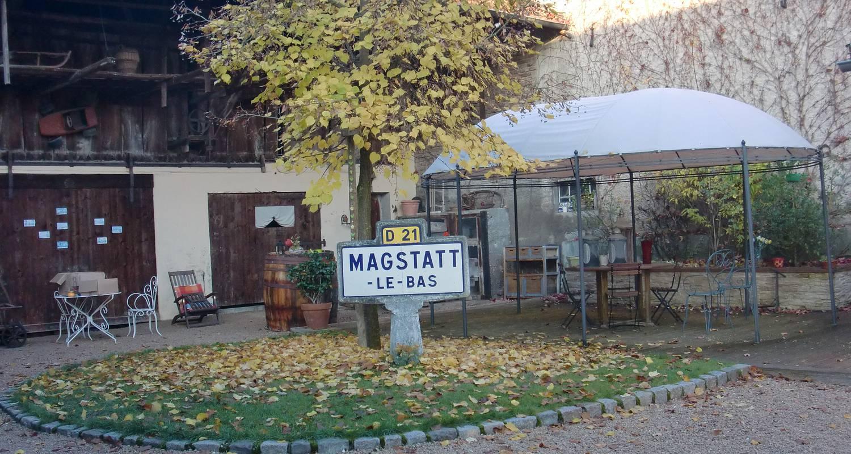Chambre d'hôtes: chambres et table d'hôtes le belys à magstatt-le-bas (126893)