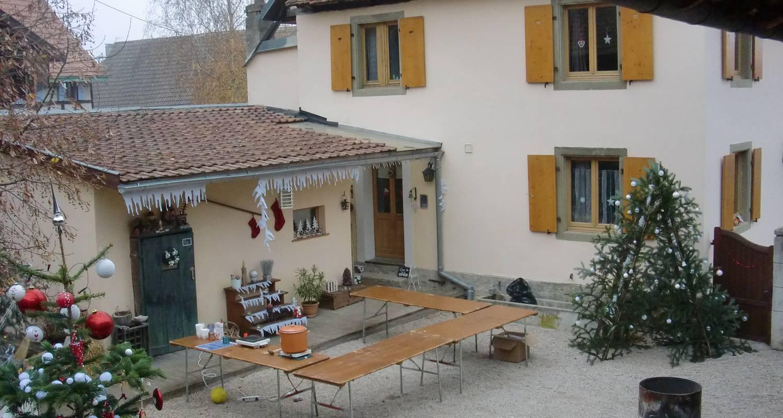 Chambre d'hôtes: chambres et table d'hôtes le belys à magstatt-le-bas (126913)