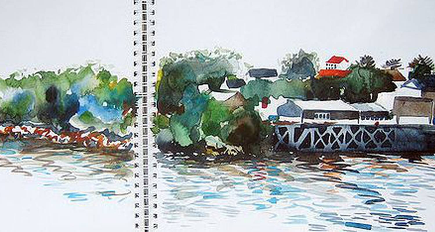 "Activity: ""entre erdre et loire""  stage croquis et aquarelle in nantes (126896)"