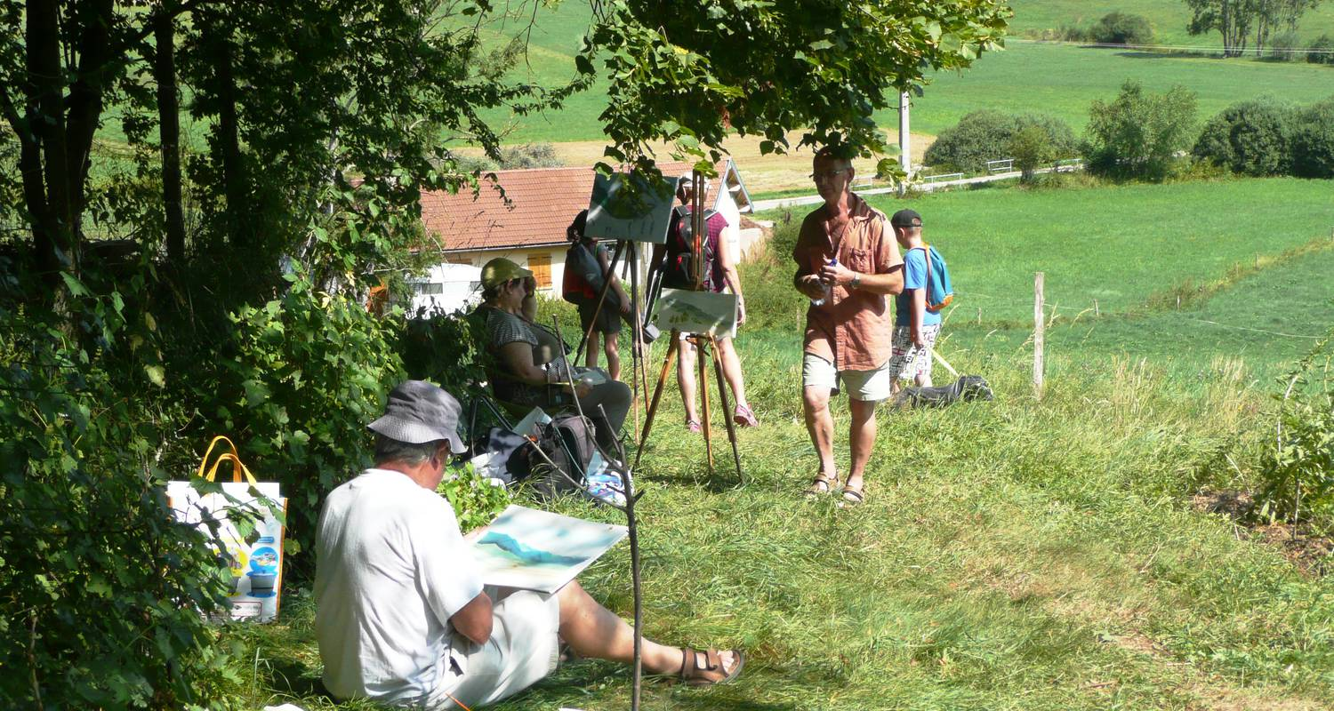 "Activity: stage ""semaine peinture à la carte"" in saint-martin-en-vercors (126938)"