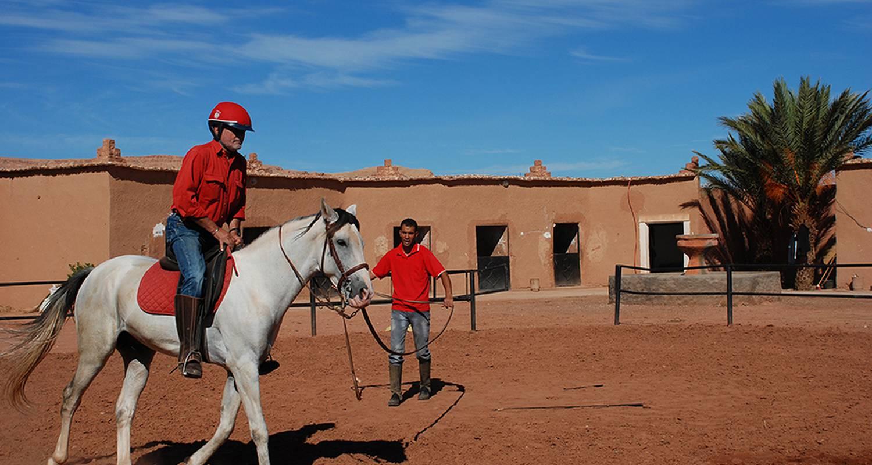 Activité: cours d'équitation et de voltige à ouarzazate (127096)
