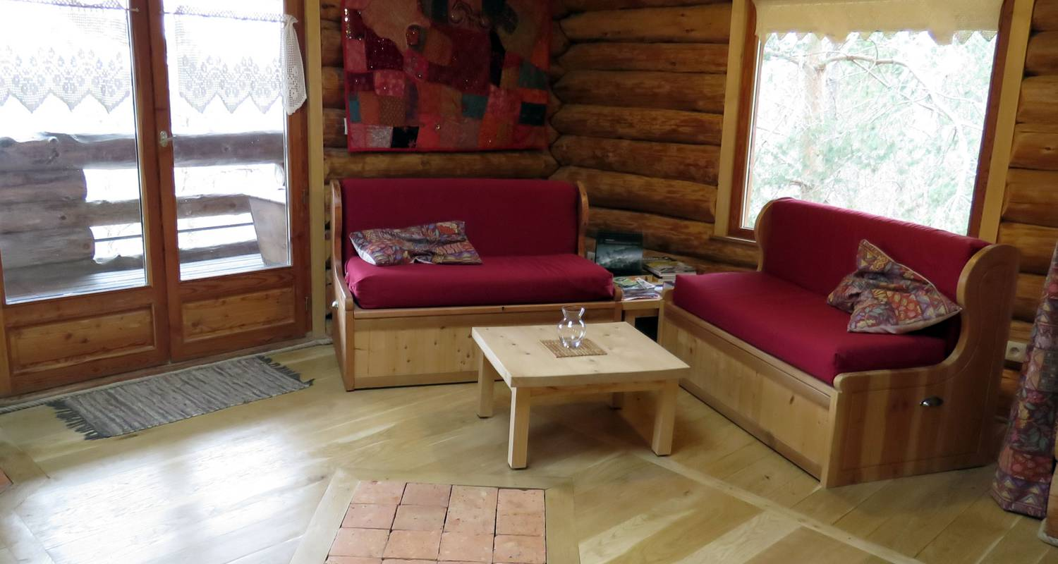 Furnished accommodation: la cabane de hans in saint-martial-de-gimel (127250)