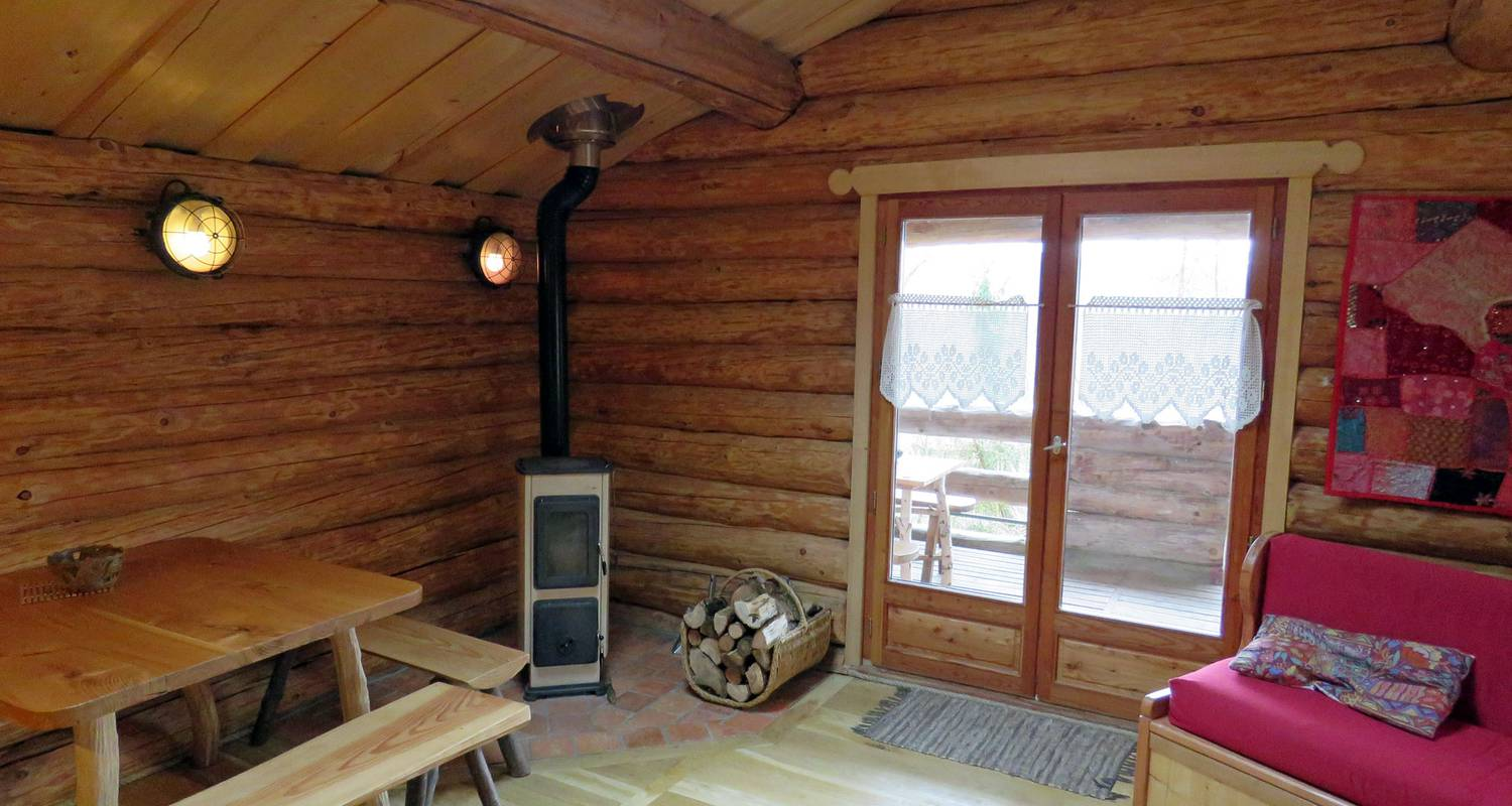 Furnished accommodation: la cabane de hans in saint-martial-de-gimel (127251)