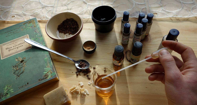 Activité: atelier de fabrication d'un baume personalisé aux huiles essentielles à eurre (127125)