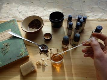 Atelier de fabrication d'un baume personalisé aux huiles essentielles