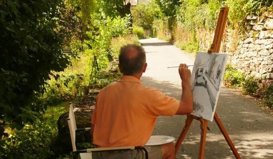 Semaine  peinture impressionniste (huile, acrylique, aquarelle, pastel ...) avec ou sans hebergement picture