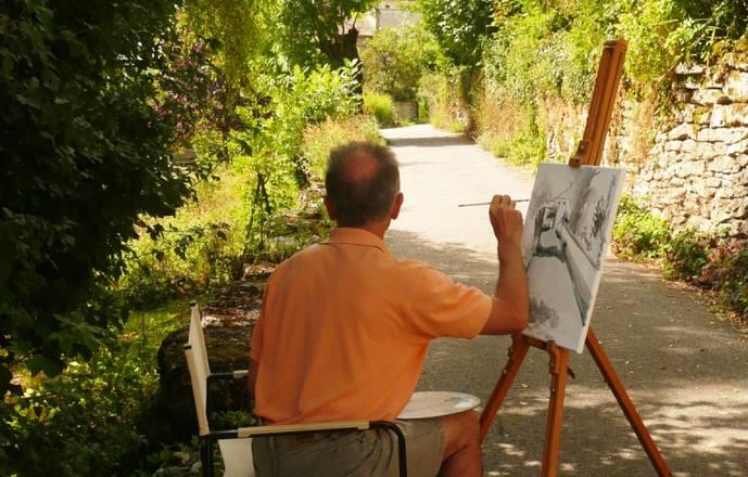 Semaine peinture impressionniste (huile, acrylique, pastel, aquarelle) avec ou sans hébergement