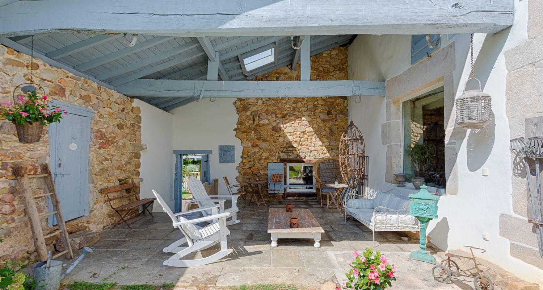 Chambre d'hôtes: ferme elhorga , maison d'hôtes d'exception aux portes de saint jean de luz et de biarritz à saint-pée-sur-nivelle (127280)