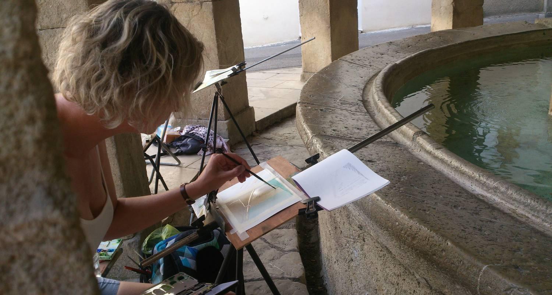 Activity: cours et stages : croquis - dessiner - peindre en pleine nature et en atelier in buis-les-baronnies (127602)