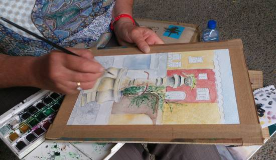 Cours et Stages : Croquis - Dessiner - Peindre en pleine nature et en atelier