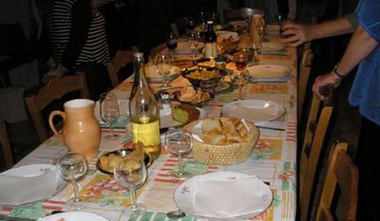 Table d'hôte végétarienne / Vegan
