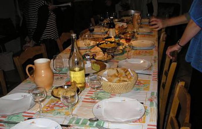 Table d'hôtes végétarienne / Vegan