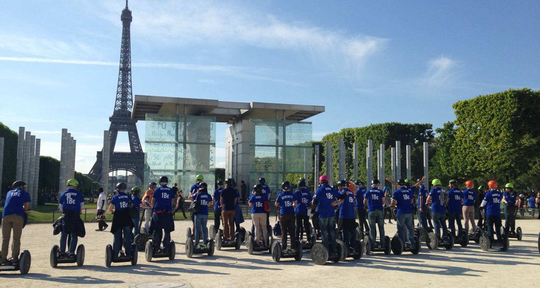 Activité: balade commentée de paris en segway à paris (127795)