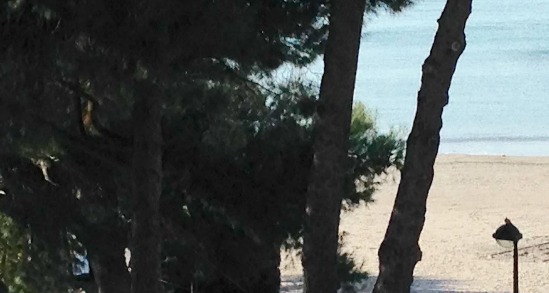 Logement meublé: beau et spacieux f1 sur plage et mer, confort et standing à saint-laurent-du-var (127662)