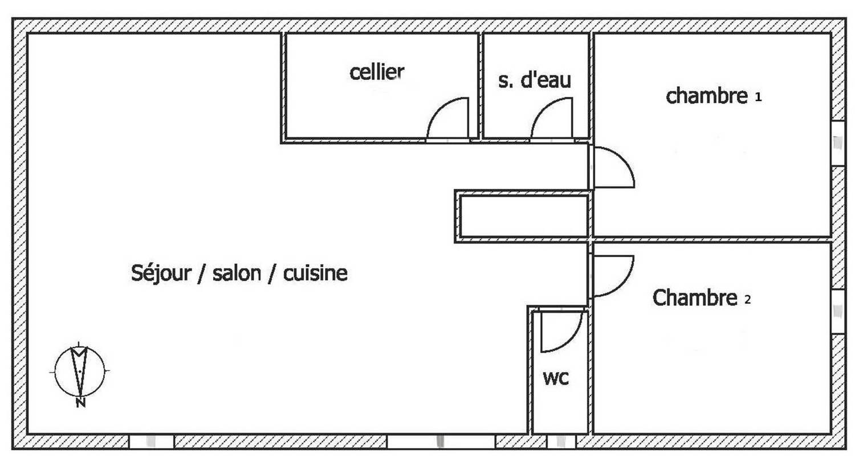Gîte: gite du moulin de la croix à arces (127692)