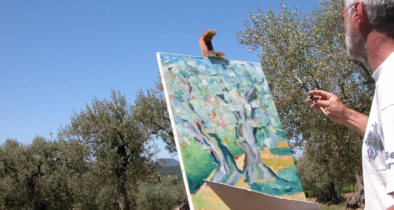 Activité: cours et stages : dessiner - peindre en pleine nature à buis-les-baronnies (127712)