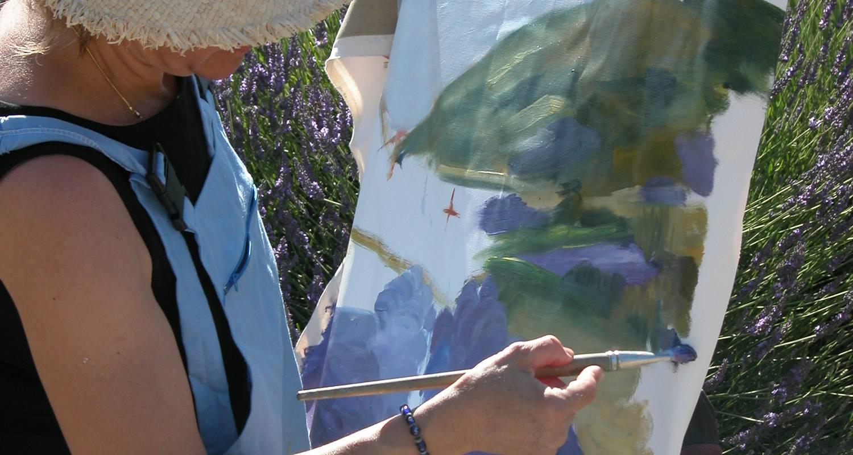 Activity: cours et stages : dessiner - peindre en pleine nature et en atelier (avec ou sans hébergement) in buis-les-baronnies (127713)