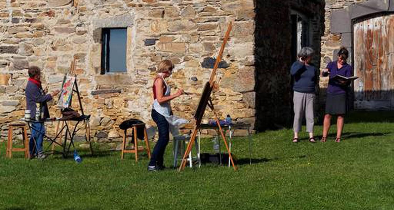 Activité: stage de dessin peinture à ardes (127784)