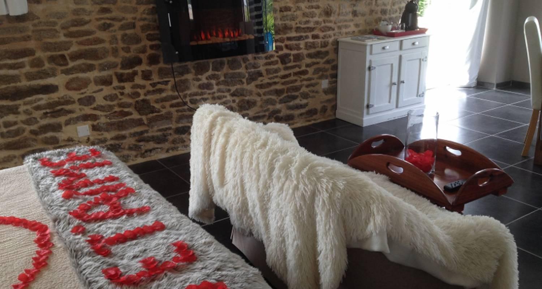 Bed & breakfast: suite balnéothérapie privative in montgothier (127937)