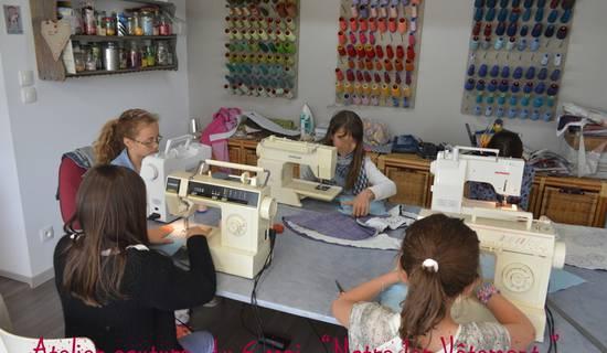 Atelier couture enfants et ados