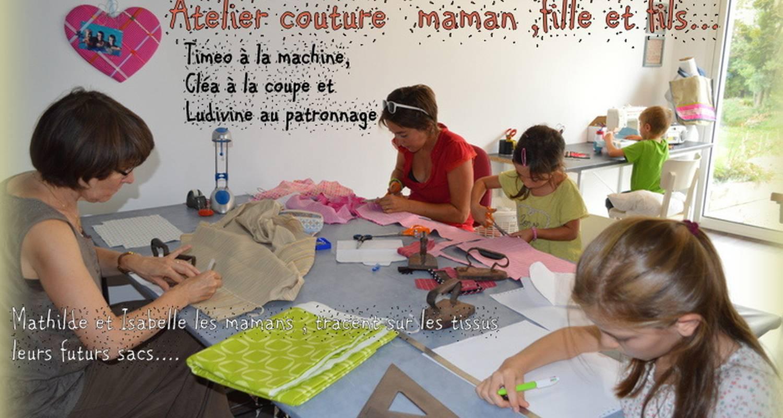 """Activité: stage de couture """"mère et fille"""" à valence (127969)"""