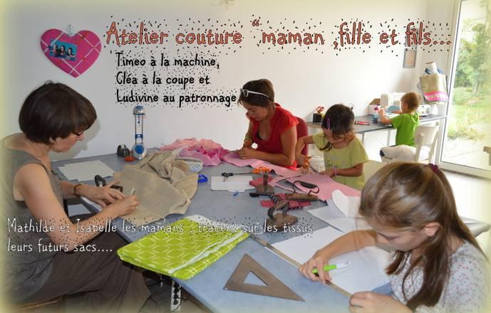 """Stage de couture """"Mère et fille"""""""