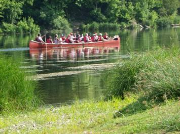 Canoe rabaska