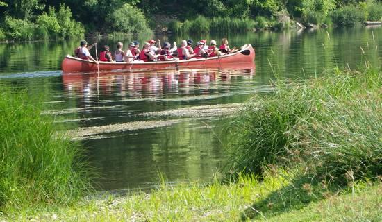 canoe rabaska picture