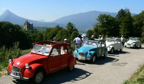 """""""Citroën 2CV tours"""" picture"""