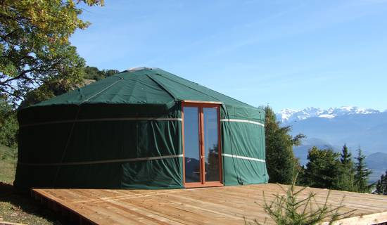 Domaine du Rocher St-Loup - Yurt/Ranch/Farmhouse Kitchen/Mountain Hiking - Vercors next to Grenoble