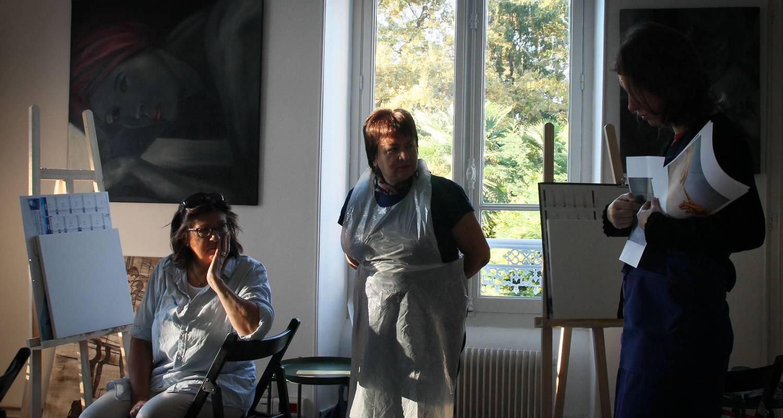 Activity: atelier de peinture à l'huile et dessin in pau (128212)