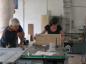Stage d'initiation au travail du bois sur machines combinées