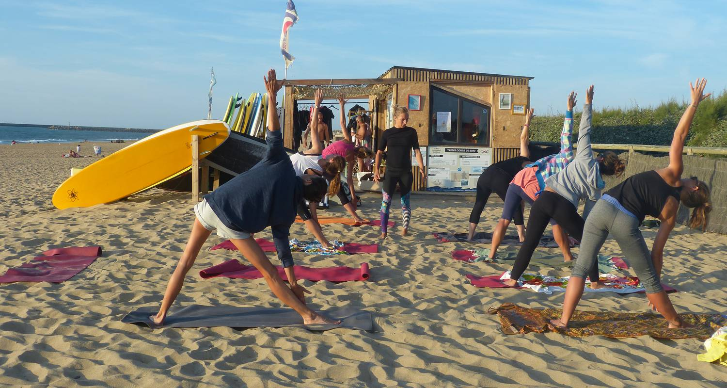 Activity: stage surf & yoga in anglet (128523)