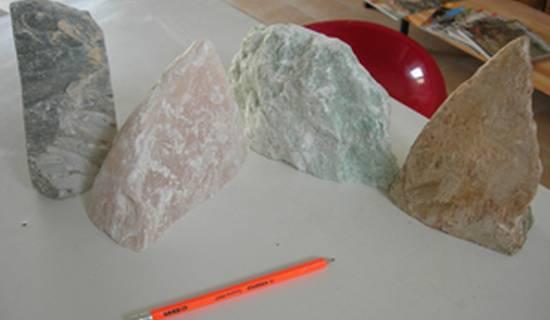Stage de sculpture sur pierre tendre, la stéatite