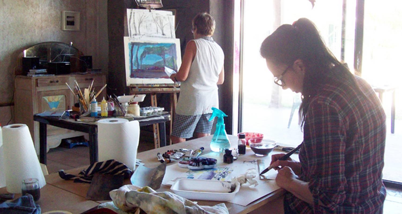 Activité: atelier artistique 2a2c en sanguinet (128610)